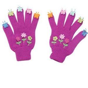 NWT! Kidorable Purple Gloves